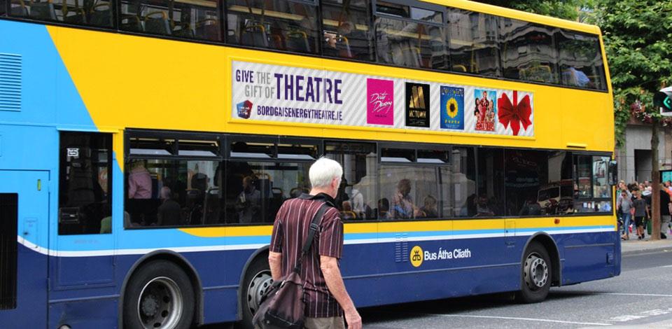 Bord Gais Energy Theatre bus ad